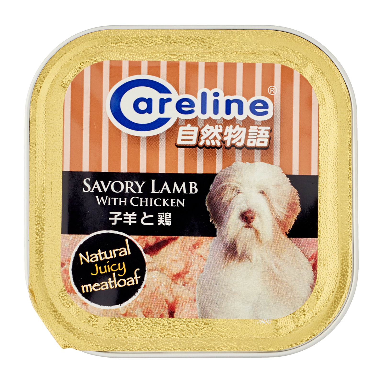 Careline Savory Lamb with Chicken 80g