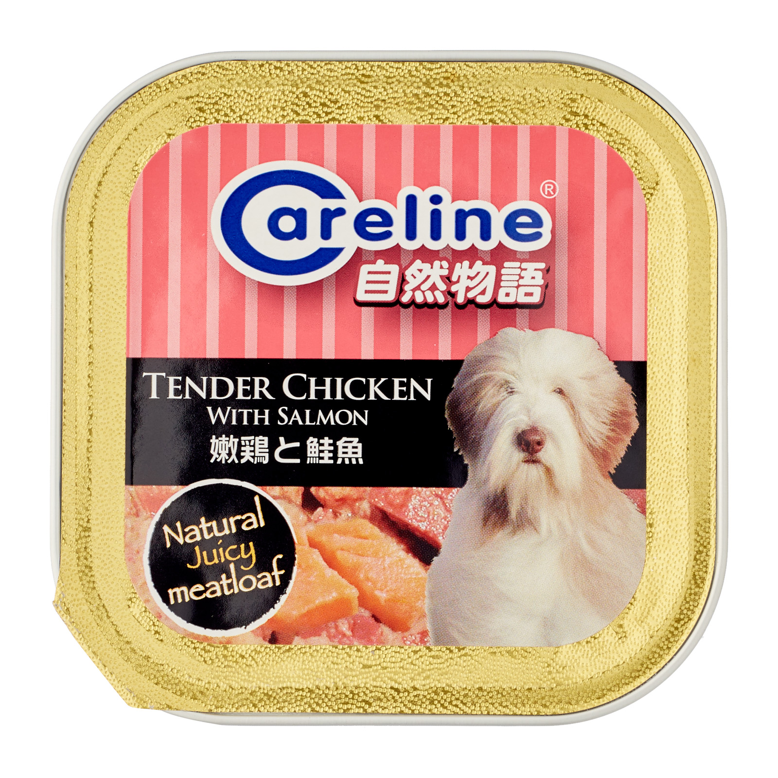 Careline Tender Chicken with Salmon 80g