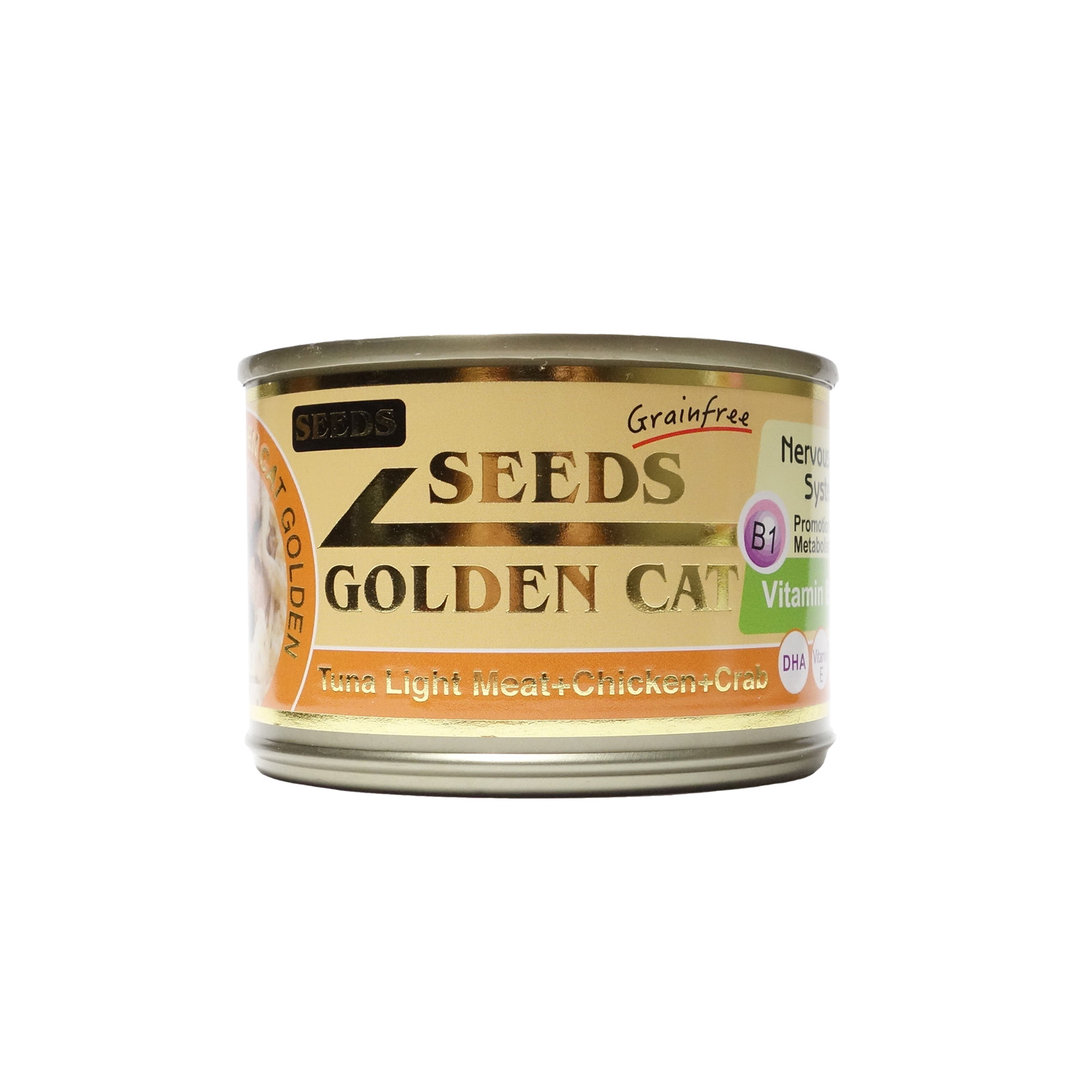 GoldenCat Tuna and Chicken and Crab 170g