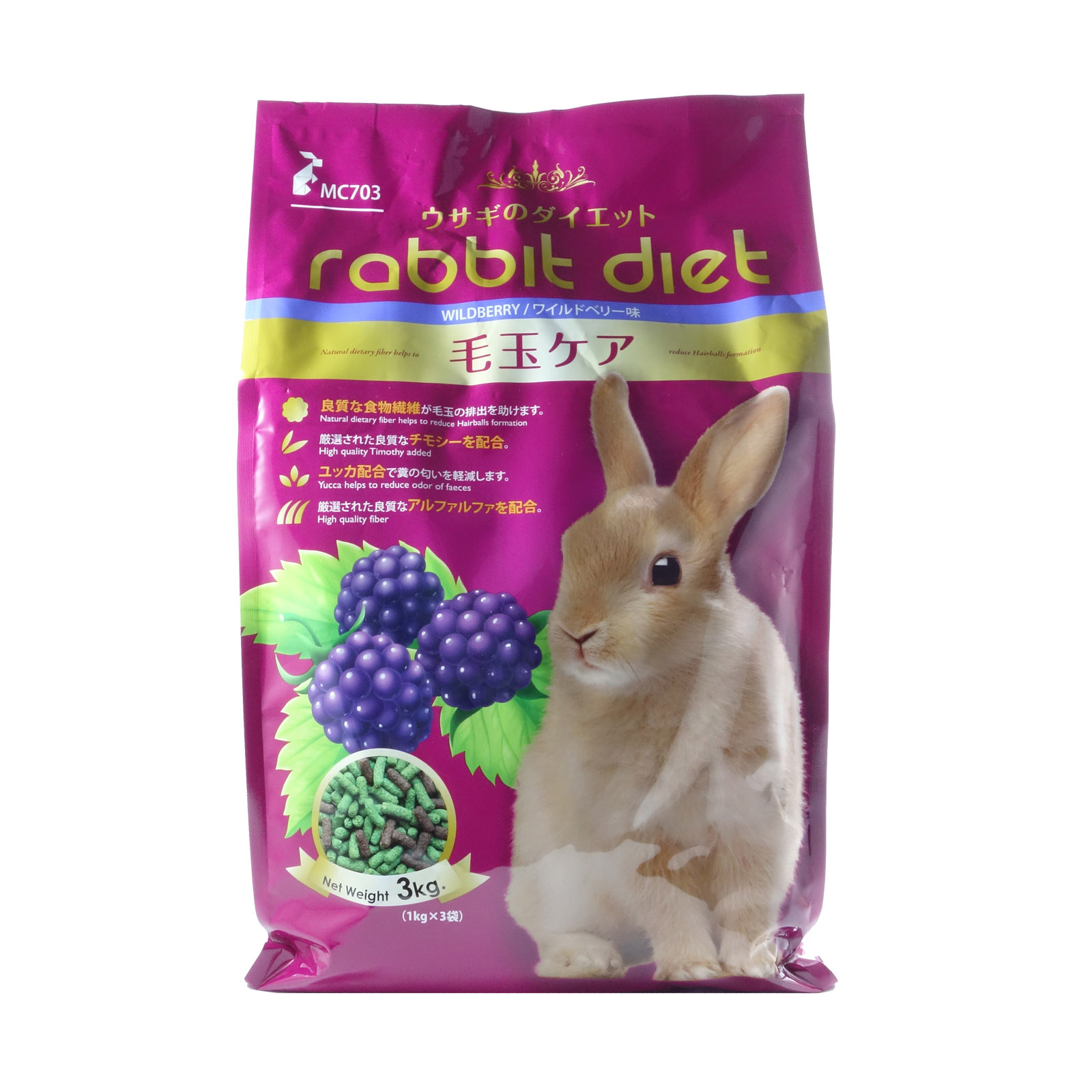Rabbit Diet Wildberry 3kg