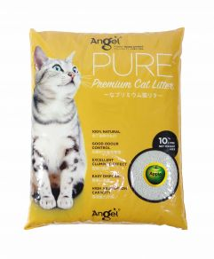 Angel Pure Premium Cat Litter 10L Apple Scented