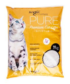 Angel Pure Premium Cat Litter 10L Lavender Scented