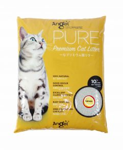 Angel Pure Premium Cat Litter 10L Lemon Scented