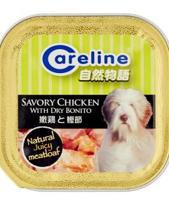 Careline Savory Chicken with Dry Bonito 80g