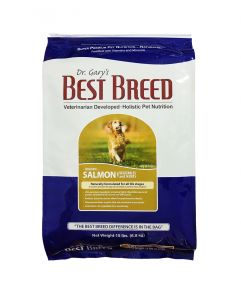 Dr. Gary's Best Breed Holistic All Life Stages Salmon with Vegetables & Herbs Dog Dry Food 15lbs (6.8Kg)