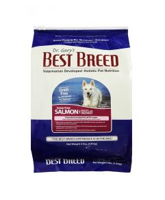 Dr. Gary's Best Breed Holistic Grain Free All Life Stages Salmon with Fruits & Vegetables Dog Dry Food 4lbs (1.8Kg)