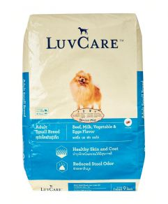 Luv Care Small Breed Beef Milk Vegetable and Eggs 9kg