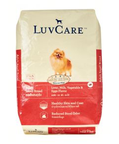 Luv Care Small Breed Liver Milk Vegetable and Eggs 9kg