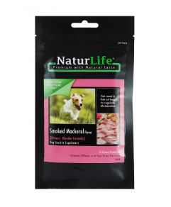 Naturlife Smoked Mackerel Dog Treat 65g