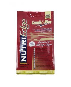 Nutri Edge Holistic Dog Food Lamb and Rice 1kg